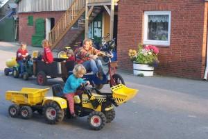 """Bei uns haben Ihre Kinder viel Platz ! / Bauernhof/Ferienhof """"Schwalbennest II"""" in Vollerwiek"""