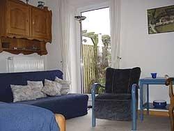 """Dieses Zimmer hat direkten Zugang zum Innhof.  / Bed and Breakfast """"Christas Haus"""" in Wester-Ohrstedt"""