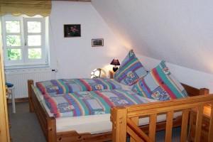 """/ Ferienwohnung """"Ferienhaus Eulenhof = Ferienhaus mit 2 Wohnungen (Haushälften)"""" in West-Bordelum"""