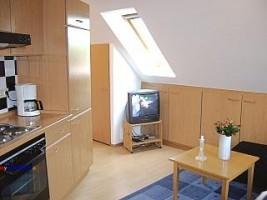 """Wohn-/Essbereich / Ferienwohnung """"Haus Droste"""" in Husum / Schobüll"""