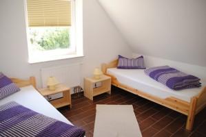 """Zweites Schlafzimmer. / Ferienwohnung """"II"""" in Husum - Südermarsch"""