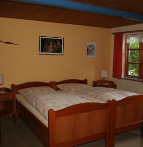 """zweites Schlafzimmer / Ferienhaus """"Petersen"""" in Arlewatt"""