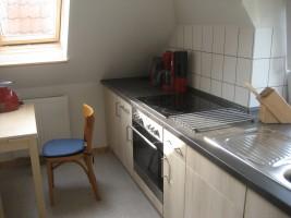 """Die Küche ist sehr gut ausgestattet / Ferienwohnung """"Jahreszeiten"""" in Husum"""