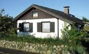 "Hausansicht / Ferienhaus ""Haus Drybarg"" in Simonsberg"