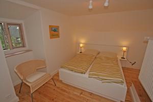"""2. Schlafzimmer im OG / Ferienhaus """"Ferien unter Reet"""" in Ostenfeld"""