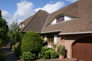 """Unser Haus in Mildstedt sagt HERZLICH WILLKOMMEN! / Ferienwohnung """"Genießer Nordsee-Urlaub"""" in Mildstedt"""