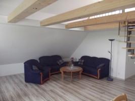 """Wohnzimmer / Ferienwohnung """"Haus Iwersen"""" in Hattstetdtermarsch"""