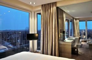 "Horizon-Juniorsuite mit Panorama-Nordseeblick / Hotel ""THOMAS Hotel, Spa & Lifestyle"" in Husum"