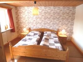 """Schlafzimmer / Ferienhaus """"Reetdachhaus Räidehüs"""" in Bordelum"""