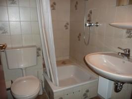 """ein Duschbad mit WC. im Obergeschoß, ein WC. ist noch Parterre / Ferienhaus """"Ferienhaus Nordstrand"""" in Nordstrand"""