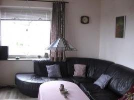 Sitzecke im Wohnzimmer / Ferienwohnung  in Husum