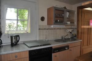 """.... eine  weitere Küchenansicht... / Ferienwohnung """"Carpe Diem"""" in Bohmstedt"""