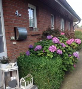 """Die Wohnung verfügt über einen eigenen Eingang / Ferienwohnung """"Nordstern"""" in Hattstedt"""