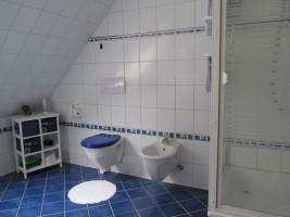 """...WC und Bidet... / Ferienwohnung """"Ferienwohnung Holt"""" in Husum"""