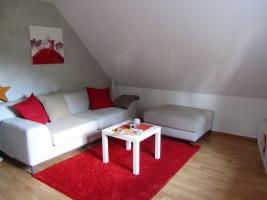 """das Wohnzimmer / Ferienwohnung """"Ferienwohnung Holt"""" in Husum"""