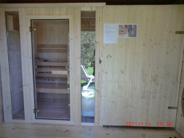 "Sauna / Ferienhaus ""Haus Nixe"" in Simonsberg"