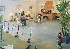 """Kaminzimmer zum Wohlfühlen. / Hotel """"Hotel am Schlosspark"""" in Husum"""