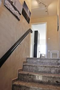 """Treppenaufgang zur Ferienwohnung / Ferienwohnung """"Nordseelenruhe"""" in Husum"""