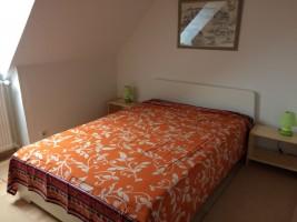 """Schlafzimmer 2 / Ferienwohnung """"Marschblick Wobbenbüll"""" in Wobbenbüll"""
