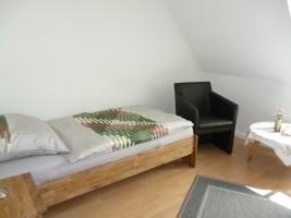 """Einzelzimmer 2 Obergeschoss / Ferienhaus """"Haus Lissi"""" in Flensburg"""