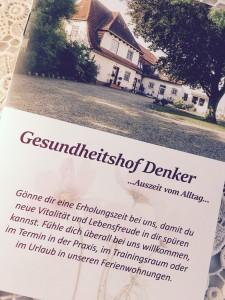 """Unser Prospekt / Gästehaus """"Zimmer mit Bad"""" in Reußenköge"""