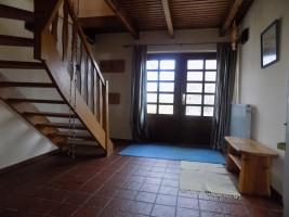 """Eingangsbereich im Erdgeschoss  / Ferienhaus """"Urige Reetdachkate"""" in Nordstrand"""