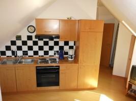 """Küchenzeile incl. Waschmaschine / Ferienwohnung """"Haus Droste"""" in Husum / Schobüll"""