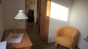 """kleines Schlafzimmer / Ferienwohnung """"Lundelius"""" in Husum"""