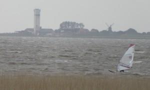 """In der Husumer Bucht  Surfer und ... / Ferienwohnung """"Nordstrand frei ab 29.10."""" in Husum - Schobüll"""