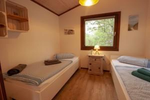 """Doppelzimmer """"Kids Koje"""" / Ferienhaus """"Ferienhaus Horn sien Hus, Urlaub mit Hund, WLAN, Sauna, Kamin"""" in Simonsberg"""