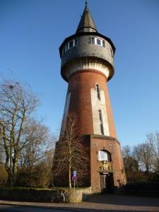 """Der alte Wasserturm / Ferienwohnung """"Husum-Tied"""" in Husum"""