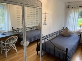 """Schlafzimmer EG / Ferienhaus """"Solingen"""" in Bondelum"""