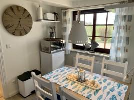 """Küche mit einer guten Ausstattung / Ferienhaus """"Ferienhaus Neukoog II"""" in Nordstrand"""