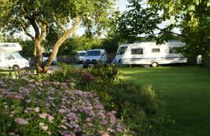 "Der Wohnwagen / Bed and Breakfast ""Camping Nordstrand Platz ""Margarethenruh"""" in Nordstrand"