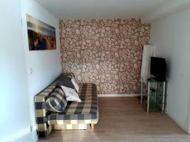 """Relaxbereich mit zusätzlicher Bettfunktion / Ferienwohnung """"Ankerplatz"""" in Bohmstedt"""