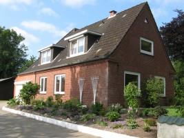 """die Ferienwohnung liegt im Obergeschoss mit Blick zur Nordsee / Ferienwohnung """"Süderoog"""" in Husum-Schobüll"""