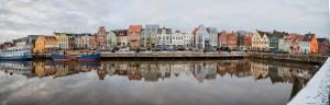 """der wunderschöne malerische  Husumer Hafen / Ferienwohnung """"Wohnung Ankerplatz mit Hafenblick"""" in Husum"""